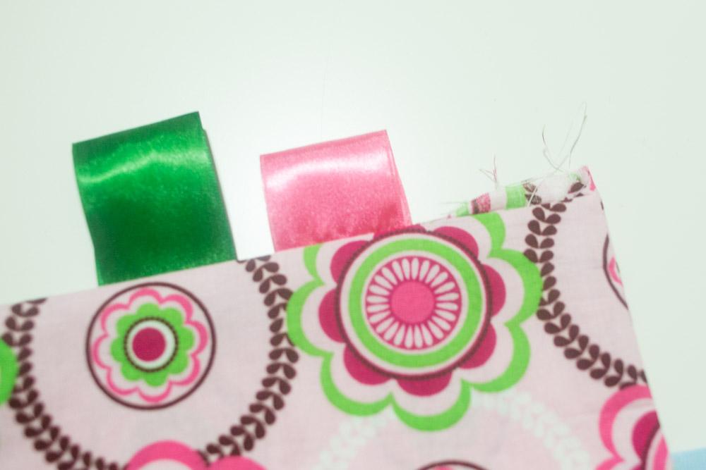 baby toy sensory tag blanket