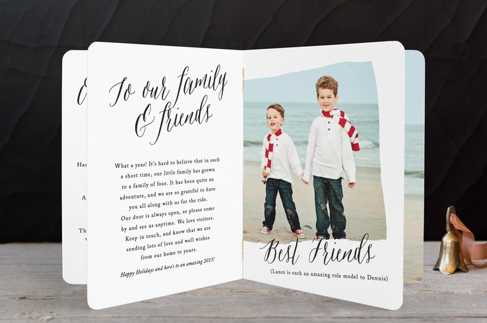 ooklette holiday cards