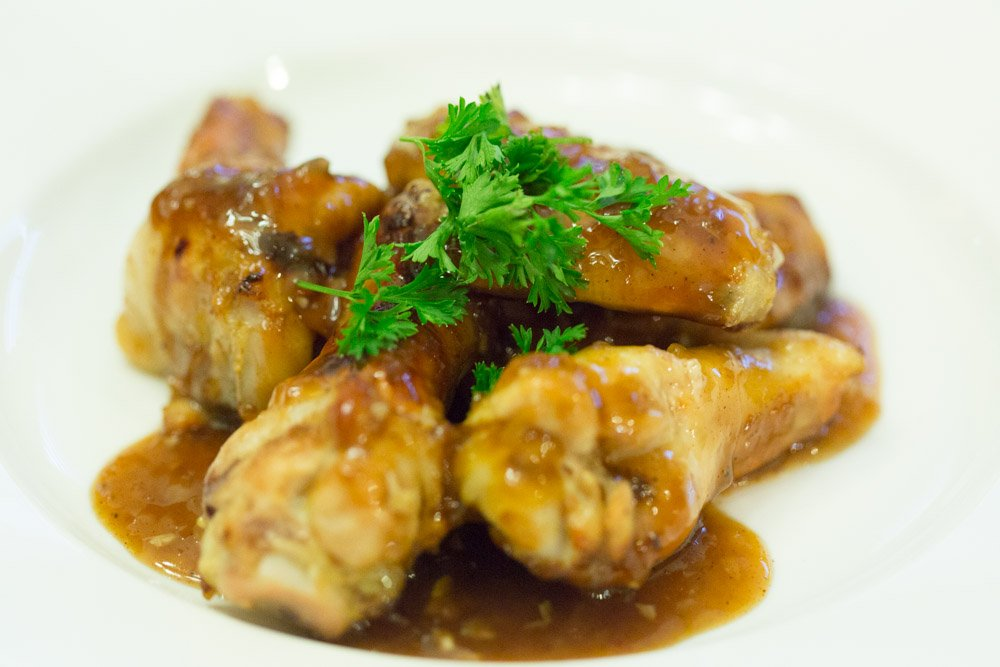coke oven baked chicken wings