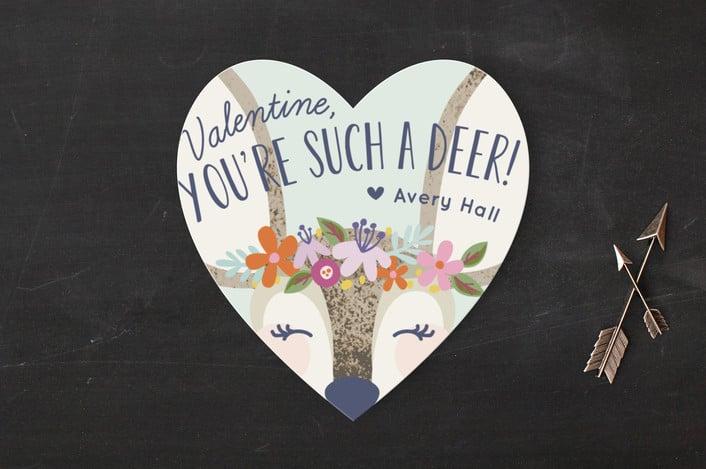 valentine deer classroom idea