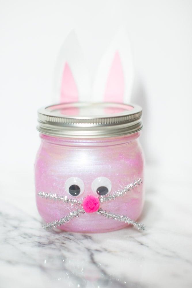 bunny mason jar ideas