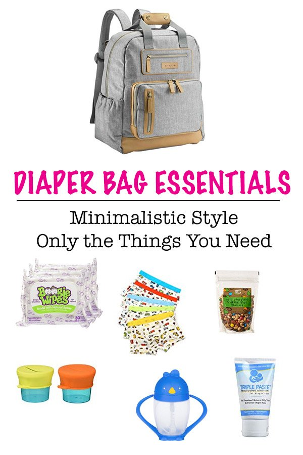 toddler bag essentials