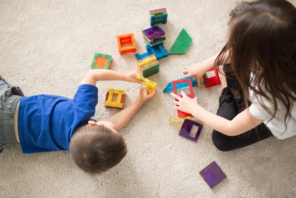 smart toddler games for brain magnet tiles