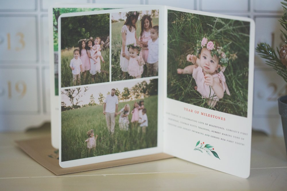booklet christmas cards fast 2