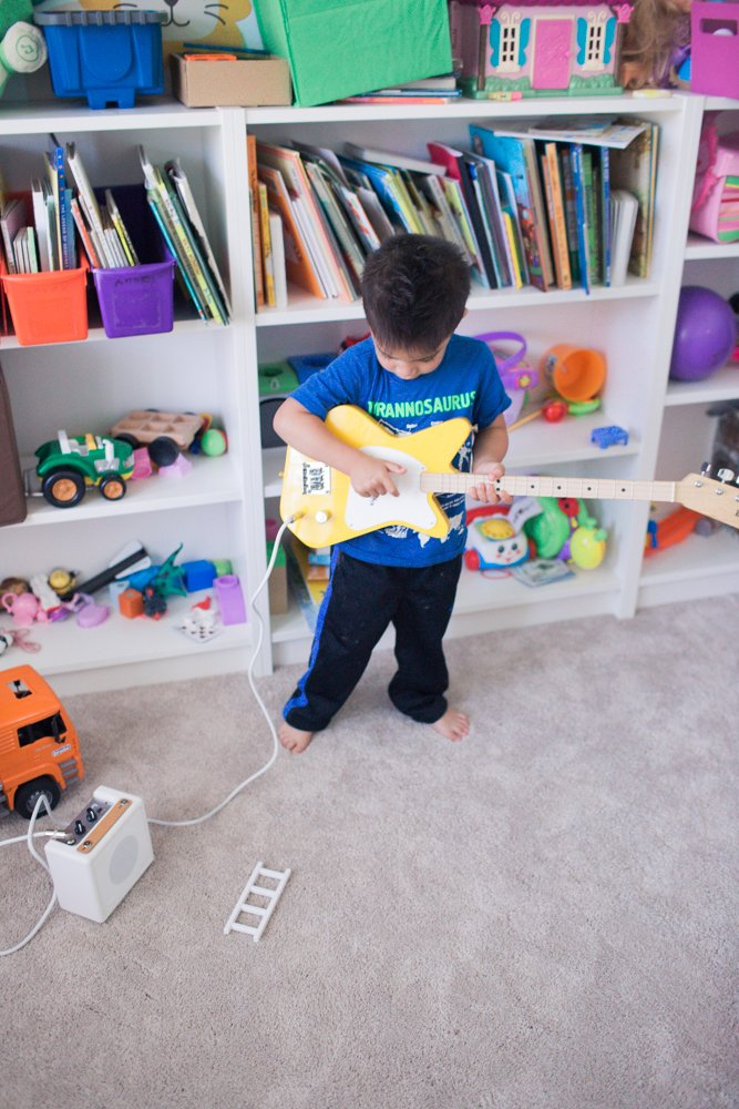 guitar lessons for kids loog guitar review