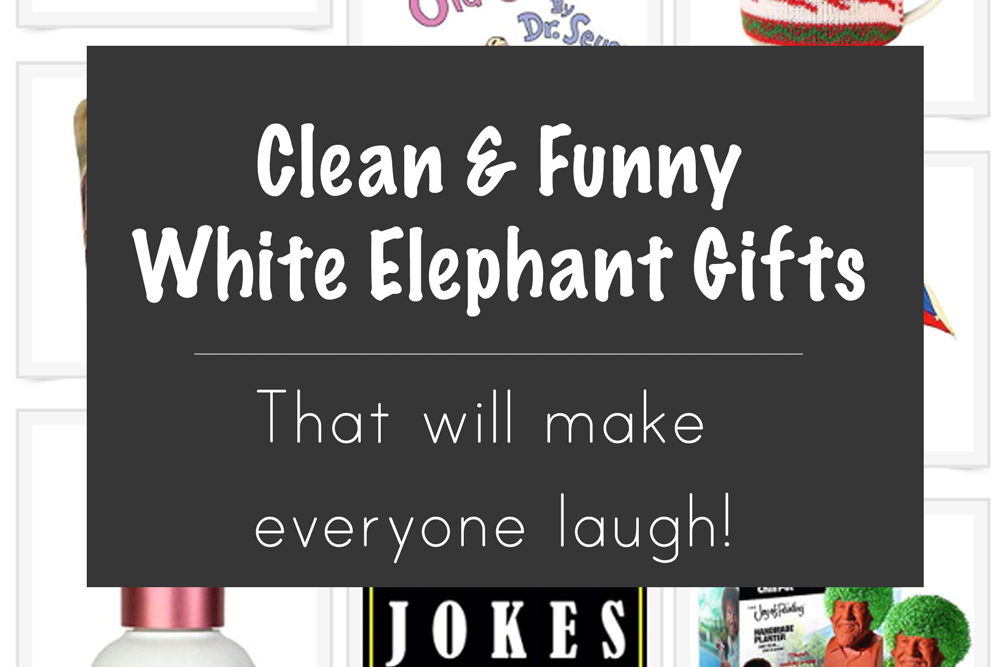 Creative and Clever White Elephant Gifts