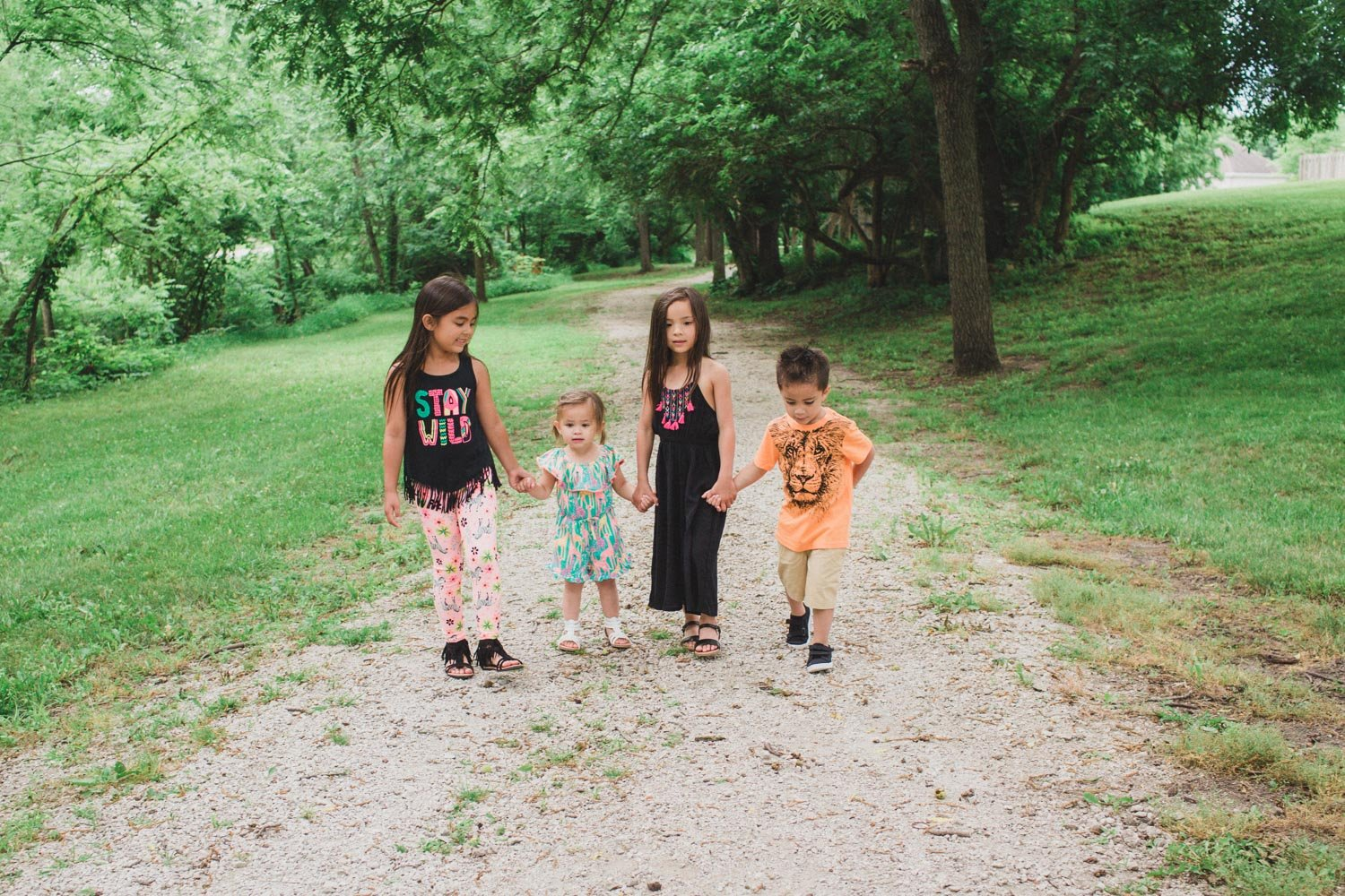 Jungle safari themed outfits for the entire family! Super cute and adorable for everyday wear.