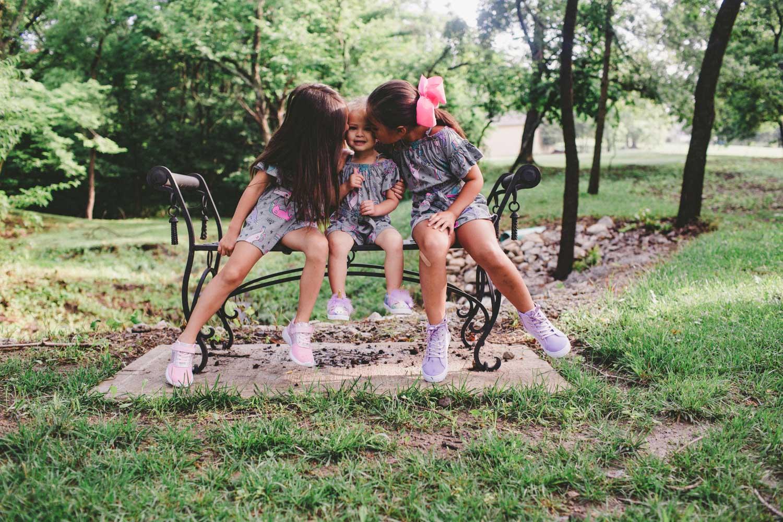 unicorn rompers for siblings