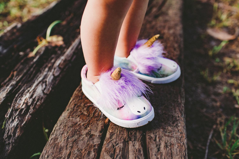 unicorn slip on shoes for girls