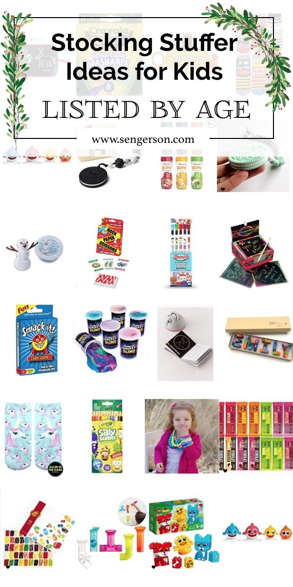 The BEST Stocking Stuffer Ideas for Kids (by AGE)