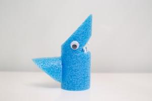 Crafts for Kids Pool Noodle Shark
