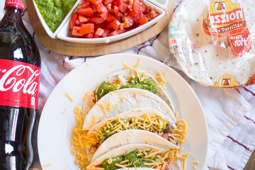 Steak Chimichurri Soft Tacos