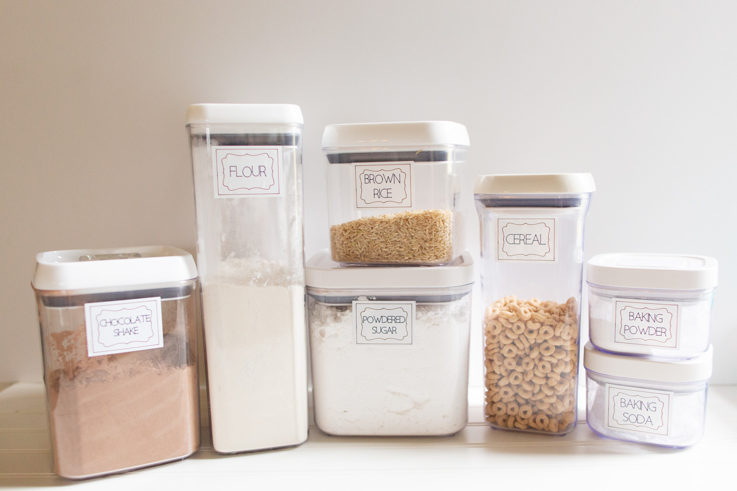 How to Make Pantry Labels with Cricut Joy